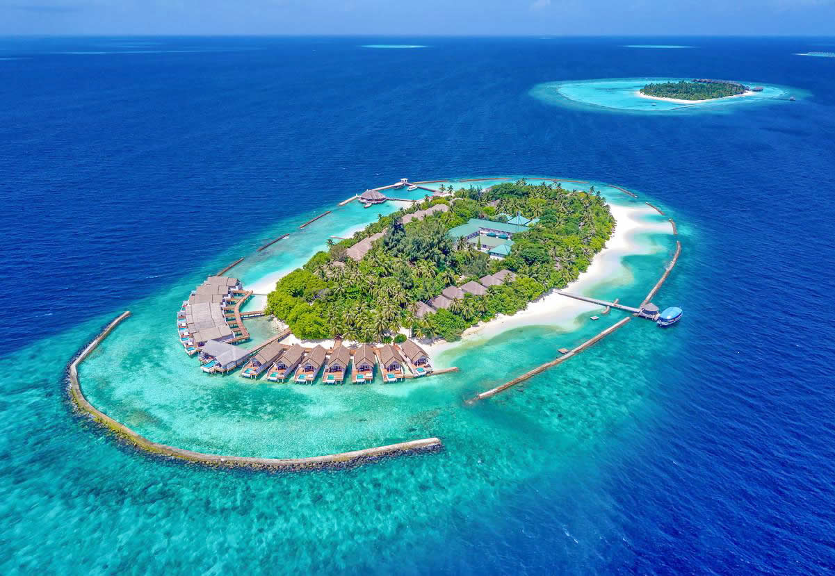 Amaya Resorts & Spa Kuda Rah aerial