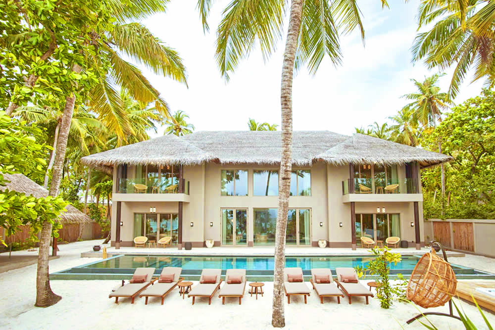 Joali, Maldives, Four Bedroom Beach Residence with Pool