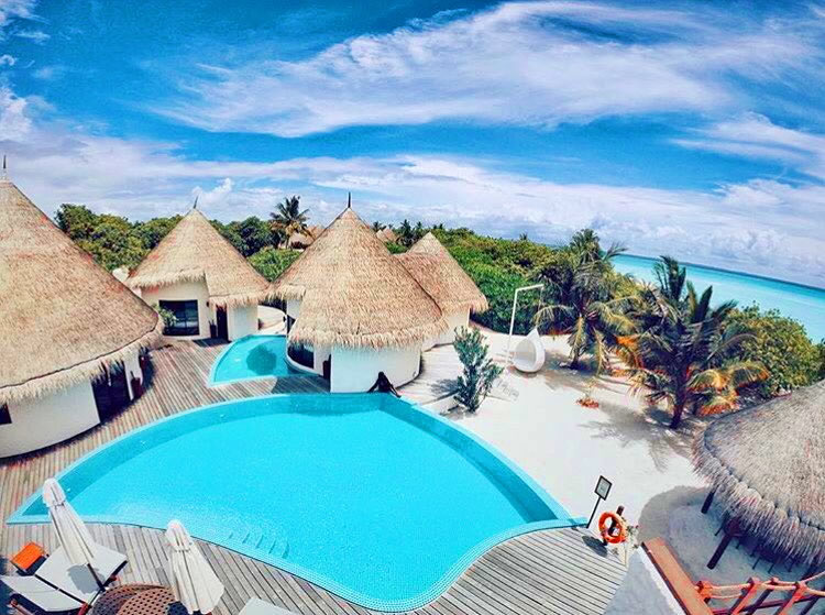 Лучшие Пляжные Дома на Мальдивах
